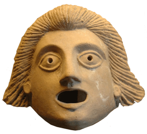 This ancient theater mask symbolizes how poorly most businesses know their customers