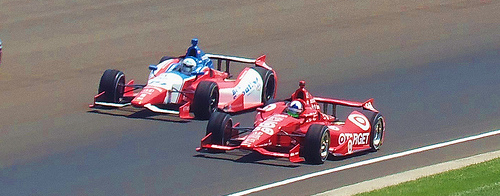 Dario Franchitti Winner Indy 500 2012